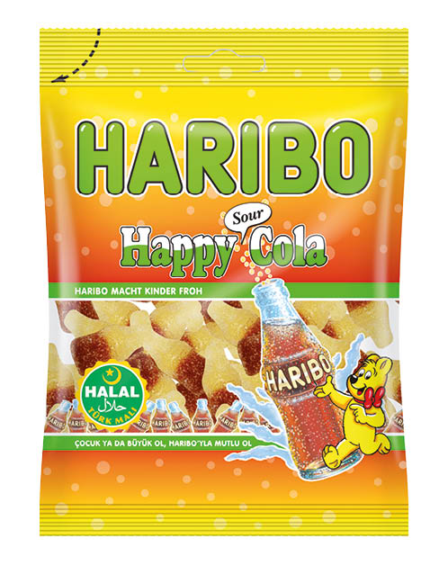 Helal Haribo Sour Cola 24x100g