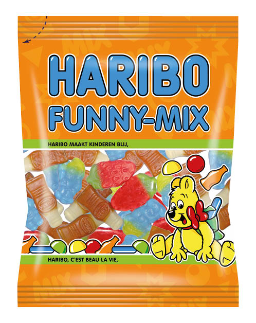 Haribo Funny-Mix BE 30x75g *NUR EXPORT*