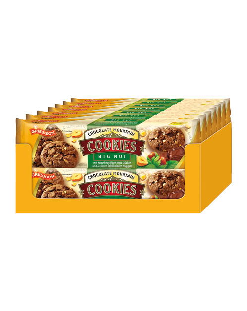 Griesson Choco Cookies Big Nut 14x150g