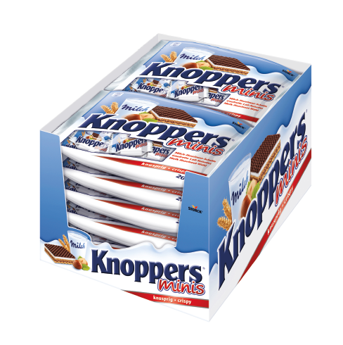 Knoppers Minis 12x200g
