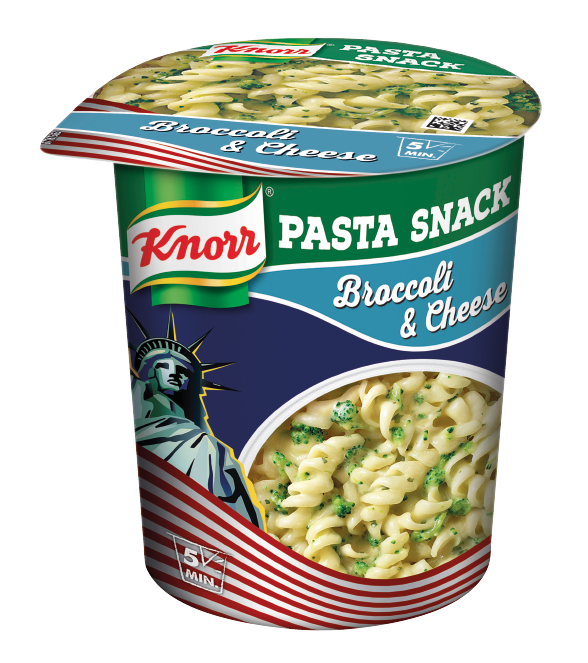 Knorr SnackBecher Broccoli&Cheese 8x69g