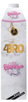 4Bro Ice Tea Bubble Gum 8x1l