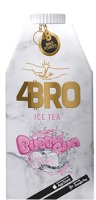 4Bro Ice Tea Bubble Gum 8x500ml