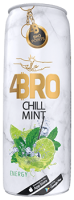 4Bro Chill Mint Energy 24x250ml DPG