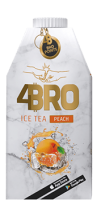 4Bro Ice Tea Peach 8x500ml